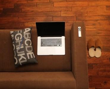 Laptop Sofa Floor