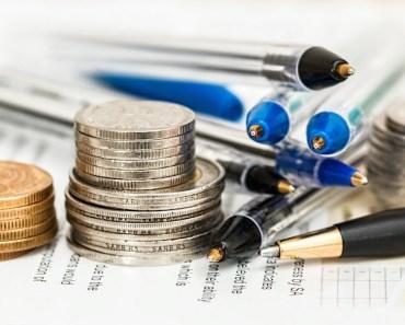 Money Coins Pens