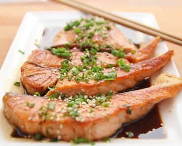 Food Salmon Steaks