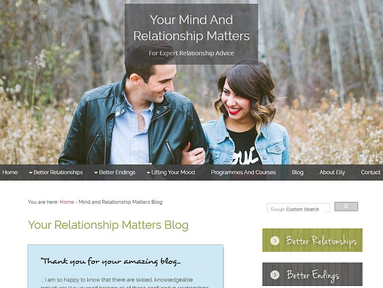 Dating advice blogs