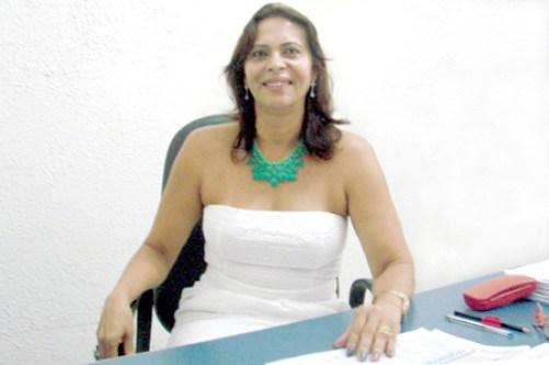 Carmélia da Mata, presidenta do Sindsemb.