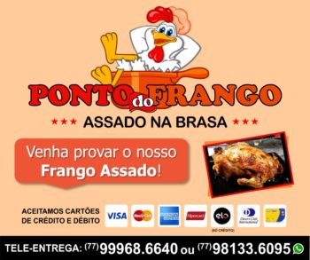 PONTO DO FRANGO - ASSADO NA BRASA