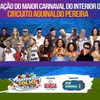 Barreiras Folia 2018: Confira aqui, a programação completa do maior carnaval do interior da Bahia