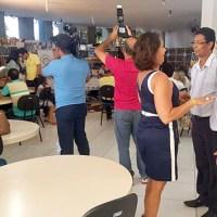 Tito participa de posse da nova diretoria da Academia Barreirense de Letras
