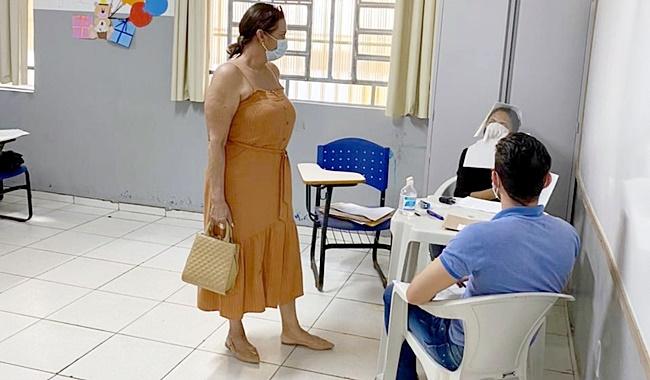 Vereadora Carmélia da Mata fiscaliza etapa do Processo Seletivo da Educação