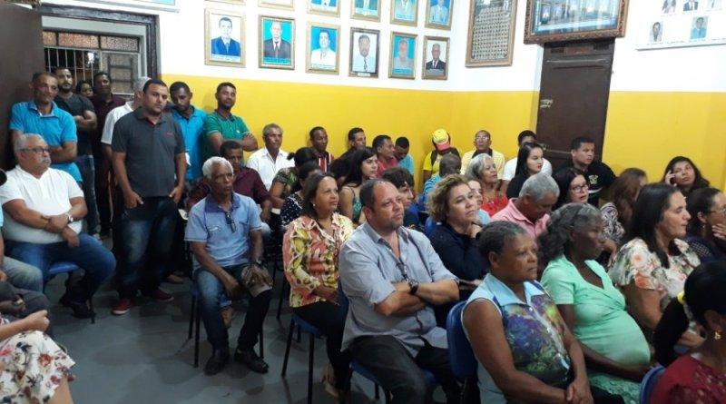 Câmara de Ibiquera presta homenagem a Cid Paraguassu