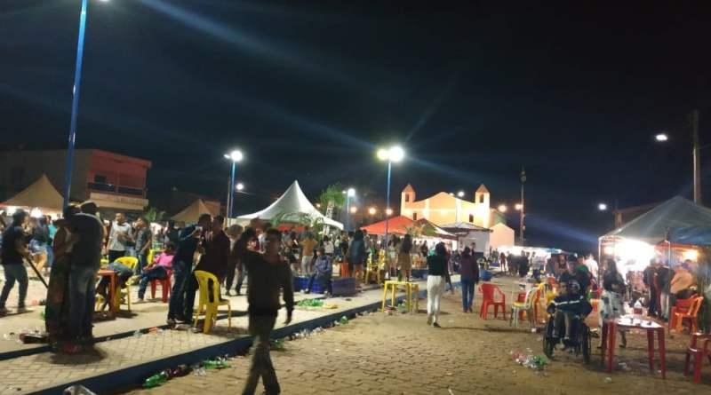 Aconteceu ontem (17) a tradicional festa  da Comunidade de Campo Alegre, distrito de Souto Soares