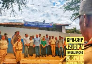 Sede do destacamento Militar é inaugurado em Palmeiras  – Ba