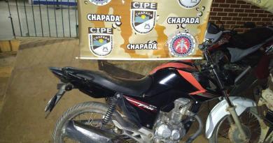 Cipe Chapada recupera motocicleta roubada em Barra do Mendes – Ba