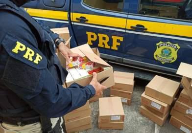 Homens são flagrados transportando cerca de 30 mil comprimidos de  Ivermectina na BR 242 em Itaberaba