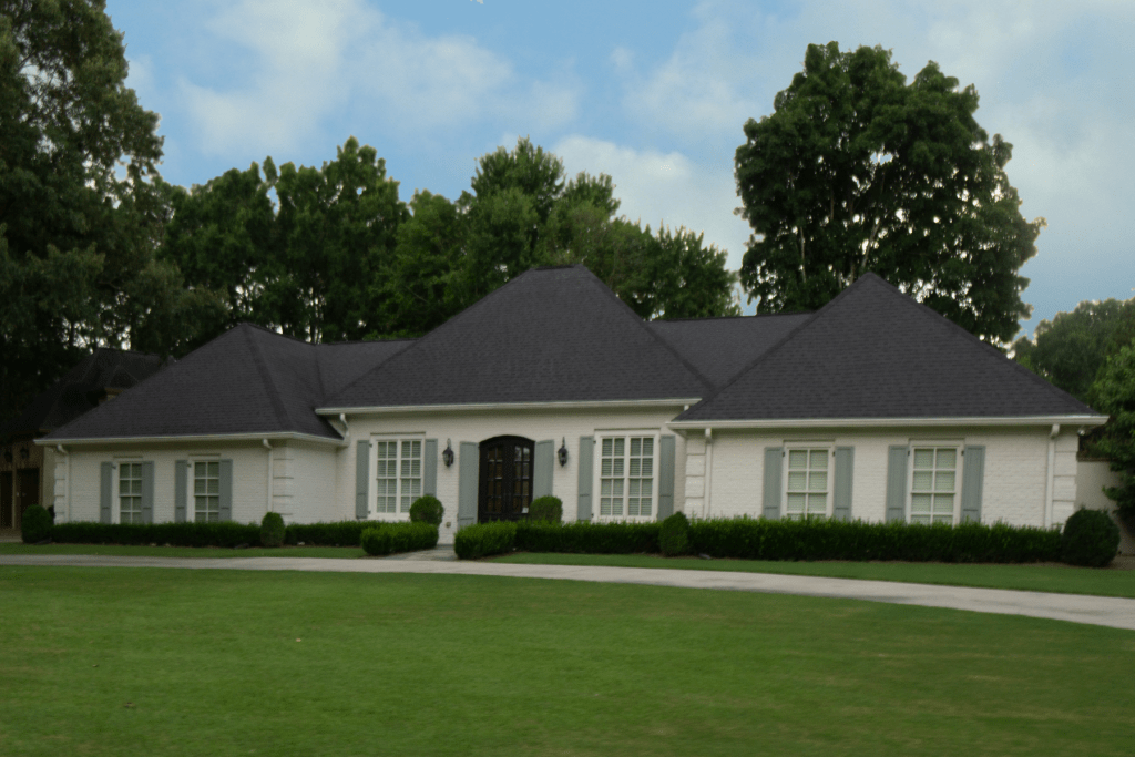 A typical home in the neighborhood.