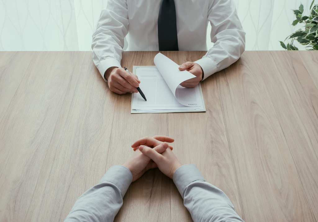 Interviews go both ways in real estate. Both broker and agent interview each other.