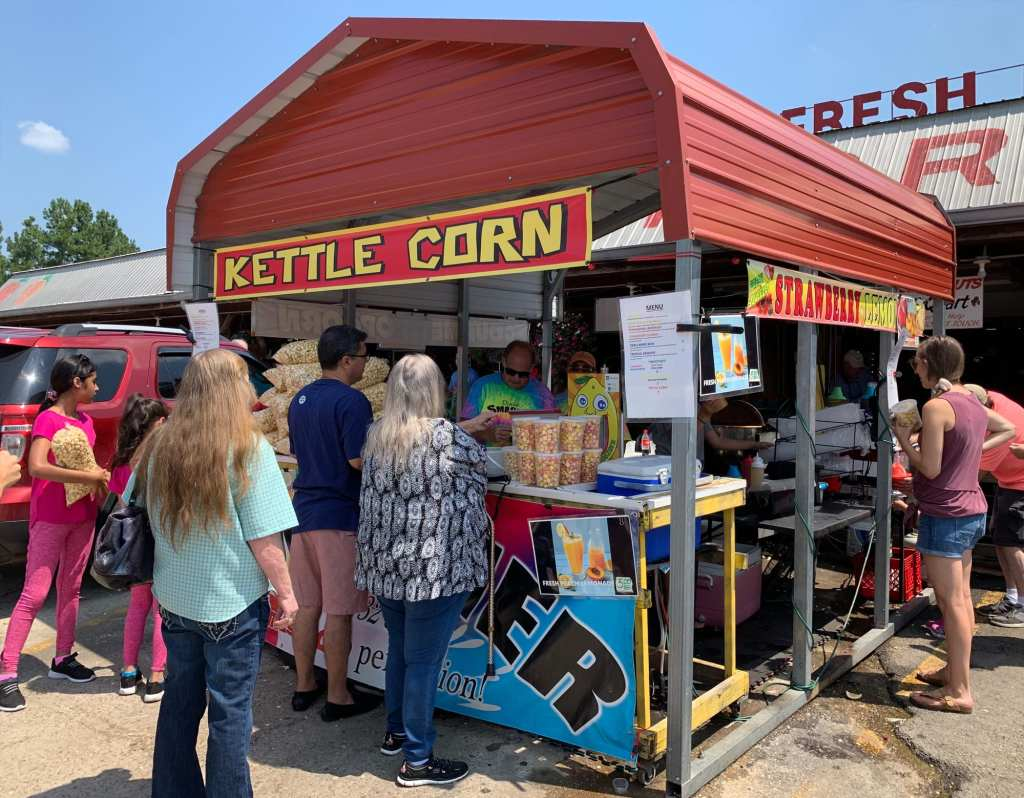 Kettle Corn and Shaved Ice