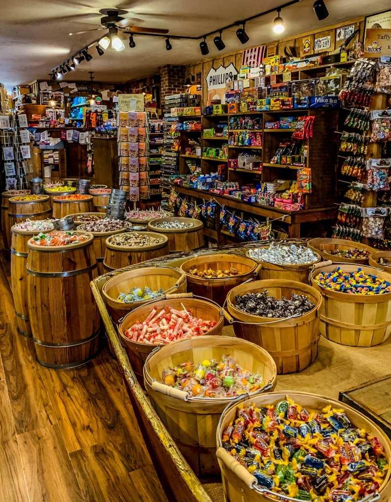 Hucks General Store Candy Blue Ridge