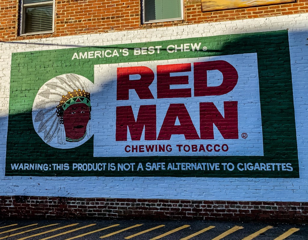 Red Man Tobacco Blueridge GA