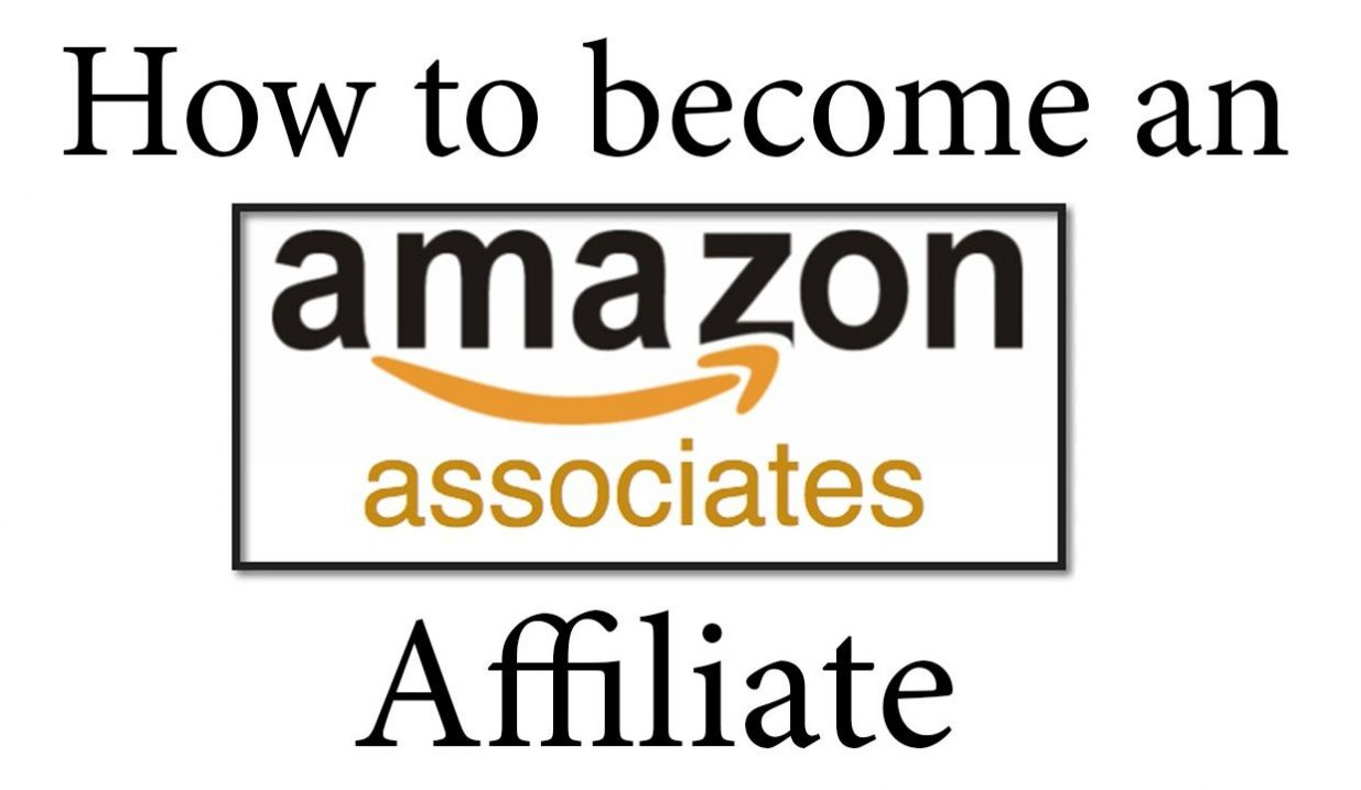 HOW TO BECOME AN AMAZON ASSOCIATE AFFILIATE