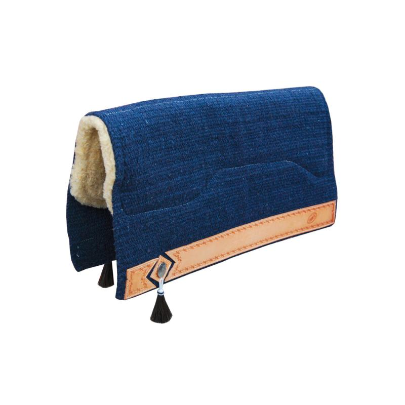 tapis western epais en laine et mouton show pool s
