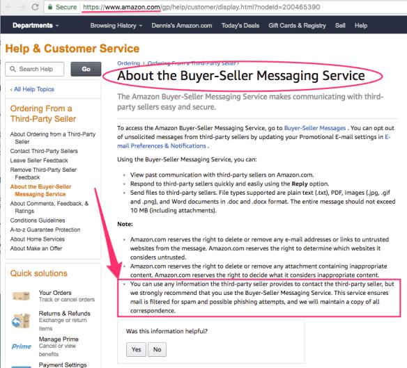 SellerSmile - Amazon Buyer Seller Messaging Service