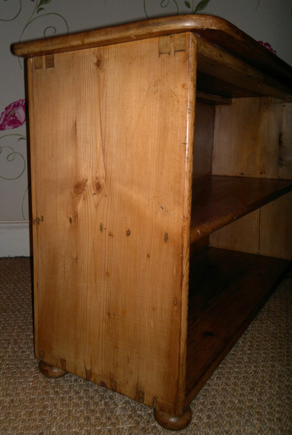 Low Pine Bookcase 246911 Sellingantiques Co Uk
