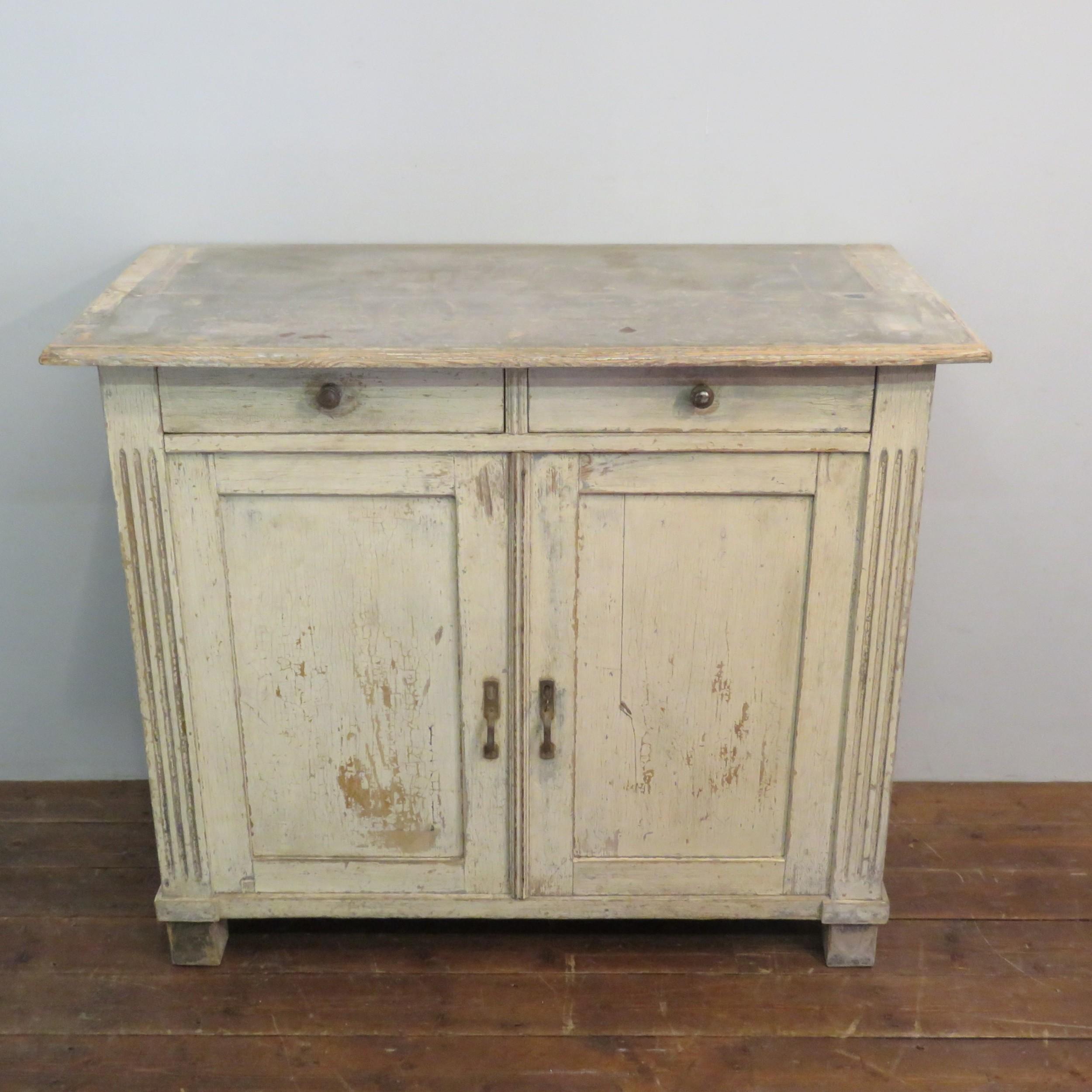 antique pine kitchen dresser base in