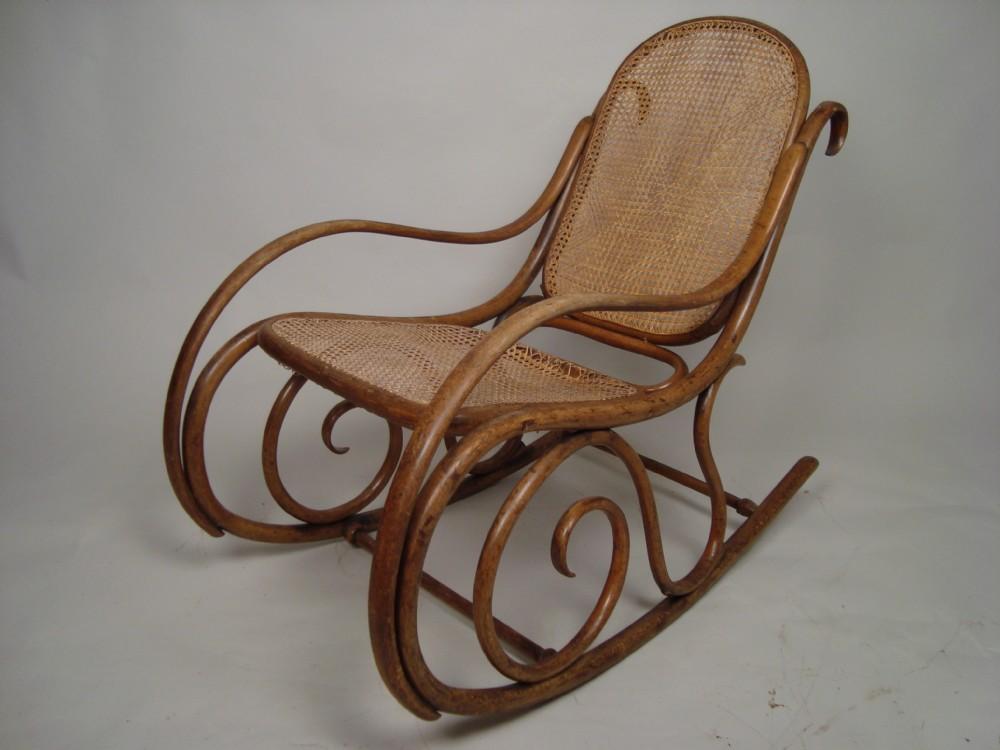 Antique Cane Rocking Chair Values