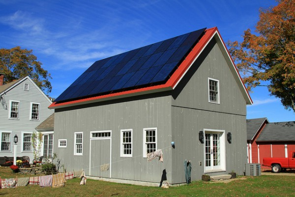 Solar Panels on a Home - PACE Loans