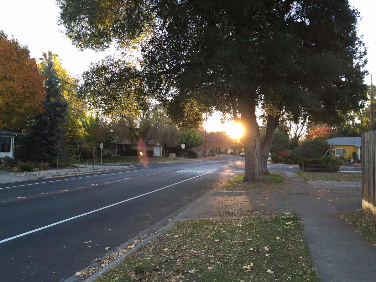 Sunrise on Lynwood Dr.