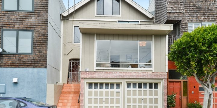 SOLD – 216 Sussex Street San Francisco, CA 94131