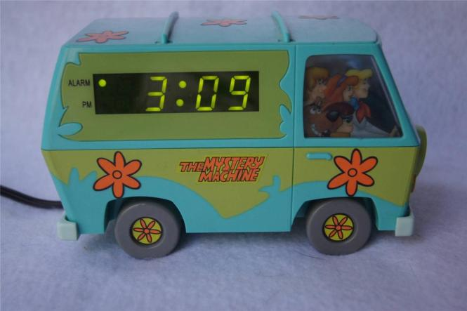 Vintage Scooby Doo Digital Alarm Clock