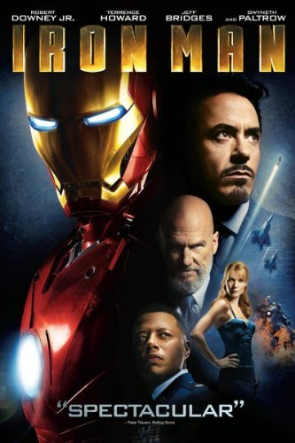 Iron Man makes it to #5 on our all-time top 10 superhero movies list