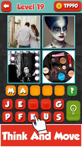 4 Pic 1 Word Android Games App Source Code