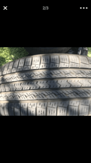 Three Original Toyota Tires - Image 2