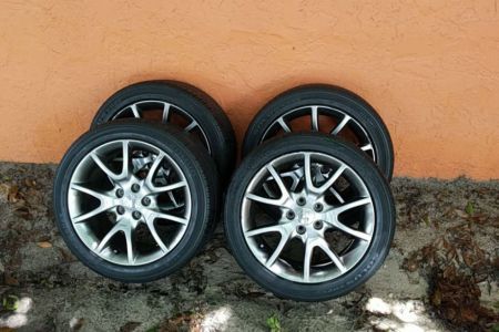 Dodge Dart Wheels