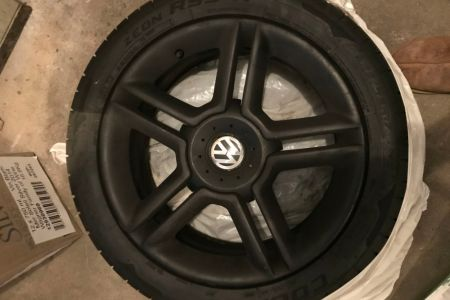 Cooper Summer Tires with Rims