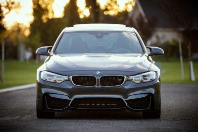 Black BMW Sports Car