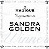 Magique Mixer Winner Sandra Golden