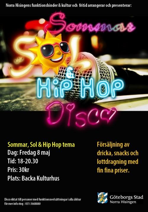 Sommar sol & hip hop