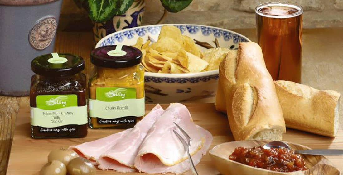 Ham Chutney & cheese