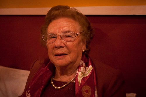Mi abuela, Carmen Iglesias