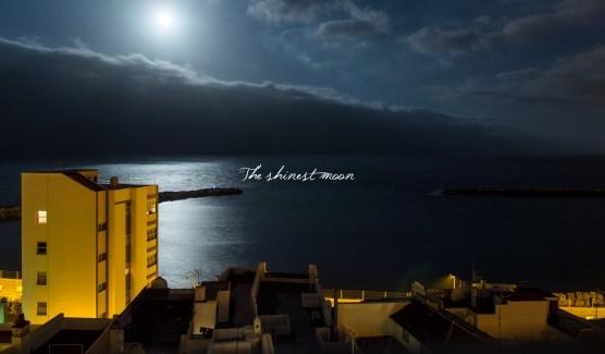Cuando la luna más se acerca