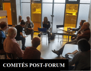 Comités post-forum