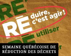 Semaine Québécoise des déchets à la SéM