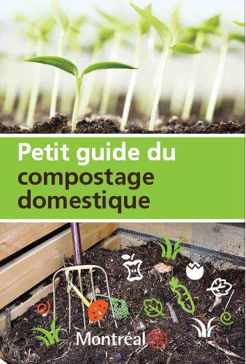 Petit guide du compostage domestique - Montréal