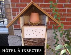 Hôtel à insectes à Sainte Marie