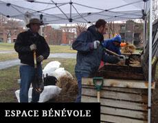 Espace bénévole - compostières Sainte-Marie