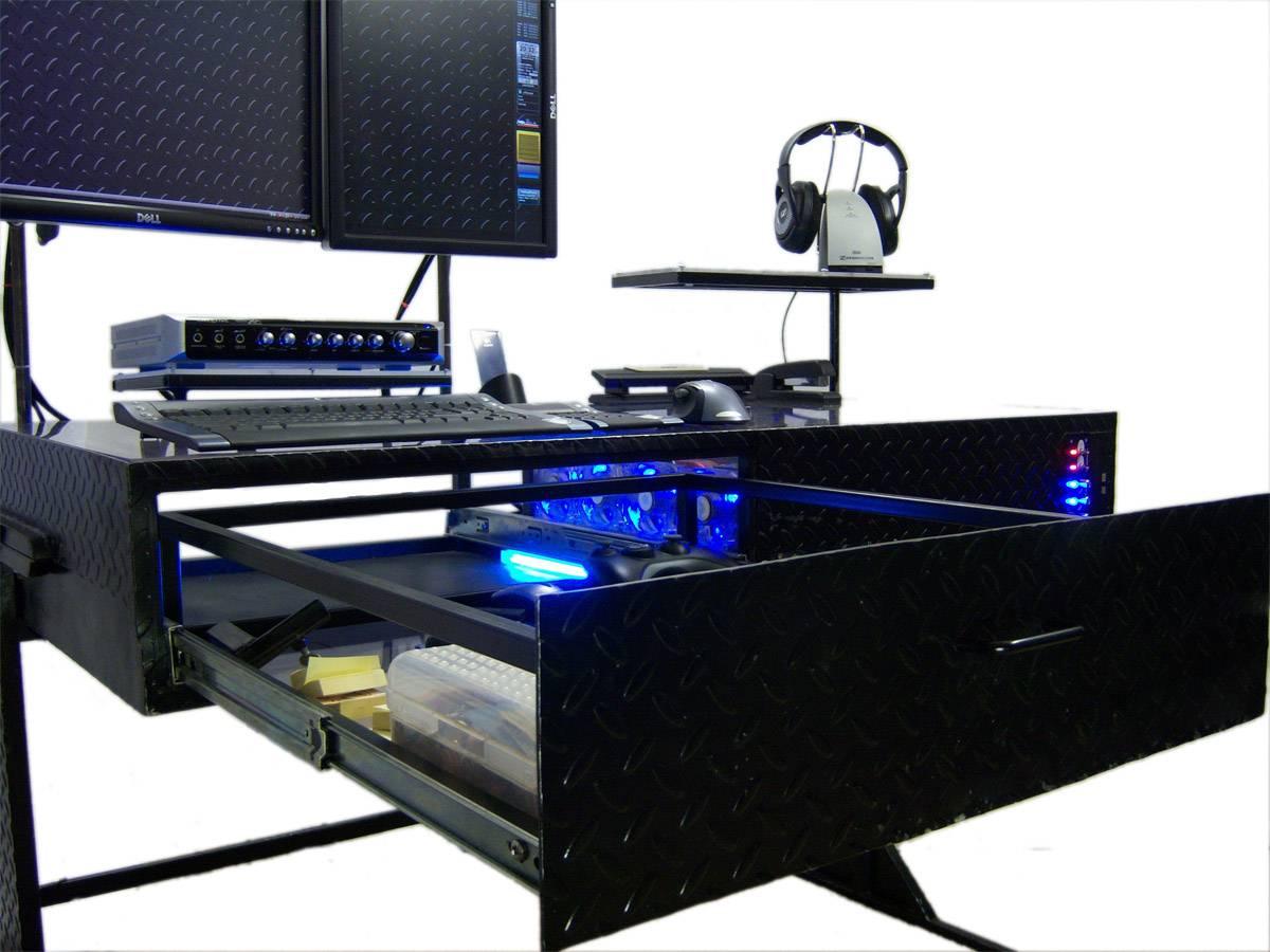 The Desk Un Ordinateur Intgr Dans Un Bureau Vraiment