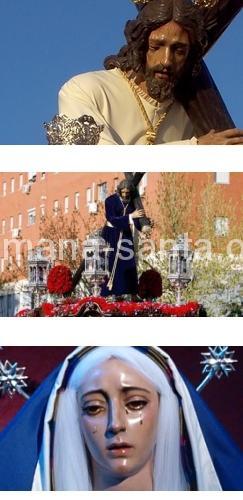 Franciscana Hermandad de Penitencia y Cofradía de Nazarenos de María Santísima de la Purísima Concepción, Santo Cáliz de Ntro. Padre Jesús del Divino Perdón y Beata Ana María de Javouhey.