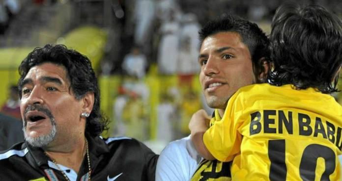 Kun y Maradona