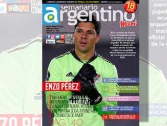El único periódico semanal argentino editado fuera del país, ahora en su nuevo formato revista.