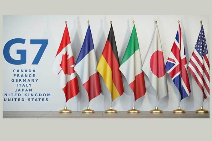 G7, Biden en Londres